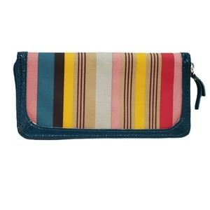 Colorful Striped ZIppered Wallet Clutch by Target